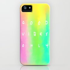 Good Vibes Only Slim Case iPhone (5, 5s)
