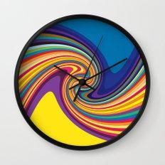 Twisty Wall Clock