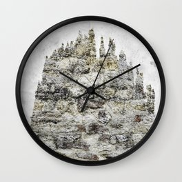 wall and tree Wall Clock