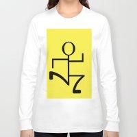 run Long Sleeve T-shirts featuring Run by Beautiful Artworks