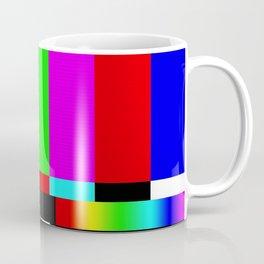 SMPTE Television TV Color Bars Coffee Mug