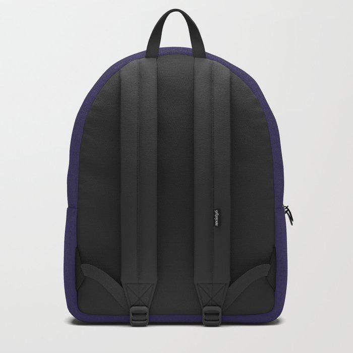 Paisley Purple Pattern Backpack