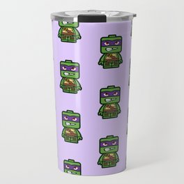 Chibi Donatello Ninja Turtle Travel Mug