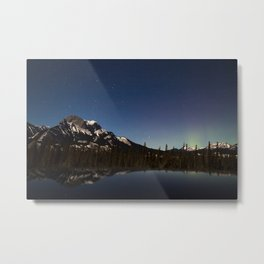 Northern lights #photography Metal Print
