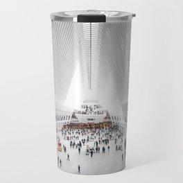 the oculus new york city Travel Mug