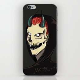Demon's smile iPhone Skin