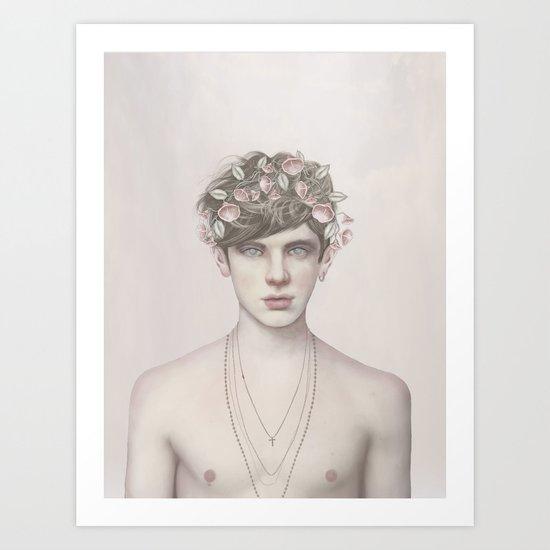 ZODIAC: VIRGO Art Print