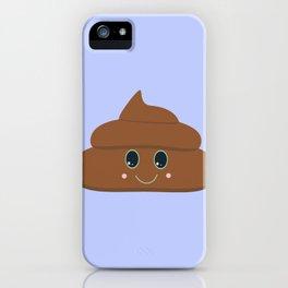 Happy poo iPhone Case