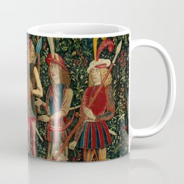 The Hunters Enter the Woods (from the Unicorn Tapestries) 1495–1505 Coffee Mug