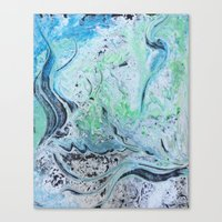 under the sea Canvas Prints featuring Under Sea by Marnie