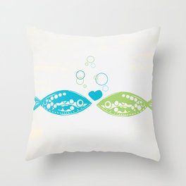 You Hooked Me Throw Pillow