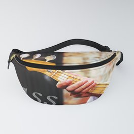 Bass Guitar neck , musical instrument  Fanny Pack