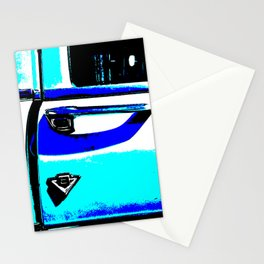 Chrome door handle Stationery Cards