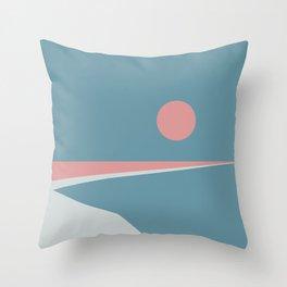 Sunset at Newton Throw Pillow