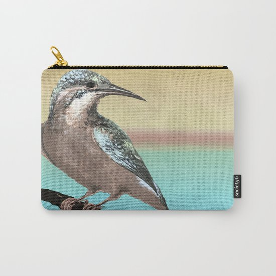 A Kingfisher Dawn Carry-All Pouch