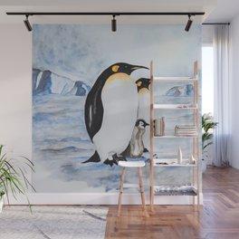 Family of Penguins Wall Mural