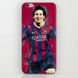 Lionel Messi iPhone Skin
