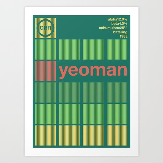 yeoman single hop Art Print