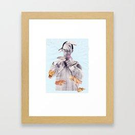 don't ask Framed Art Print