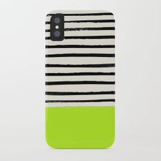 Electric Pineapple x Stripes Slim Case iPhone X