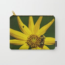 The Bumble and The Sunflower #2 Carry-All Pouch