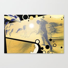 The Determined  Canvas Print