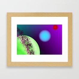 The Luminous World Framed Art Print
