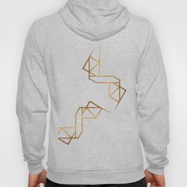 industrial golden glitters Hoody