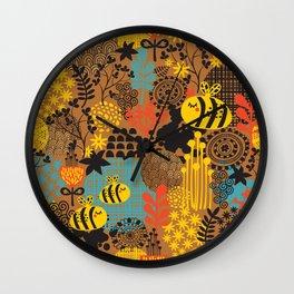 The bee. Wall Clock