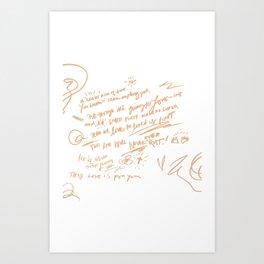 Crazy Kinds of Love Art Print