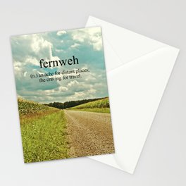 Fernweh. Stationery Cards