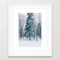 xmas Framed Art Prints featuring Xmas by Ali Inay