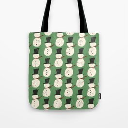 Jolly Green Snowguys Tote Bag