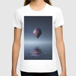 Hot Air Balloon Reflection T-shirt