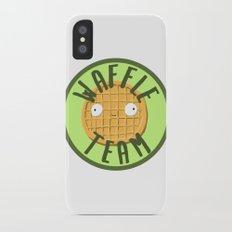 Waffle Team Slim Case iPhone X