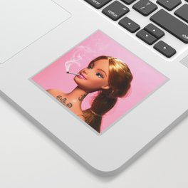 Doll Grown Up Sticker