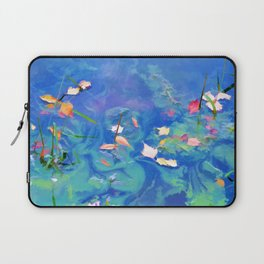 Autumn leaves on water 2 Laptop Sleeve