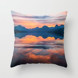 Until Daybreak Comes Throw Pillow
