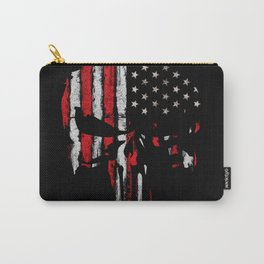 Punisher American flag Carry-All Pouch