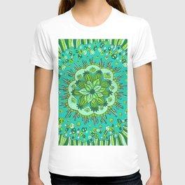 Cactus Mandala T-shirt