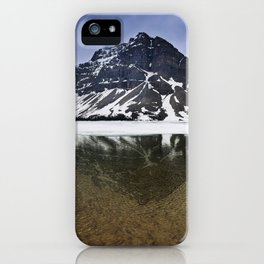 Crowfoot Mountain iPhone Case