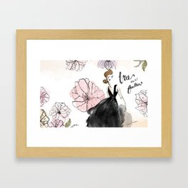 Free as a Feather Framed Art Print