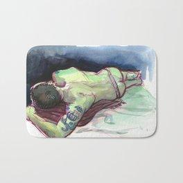 JOEY, Semi-Nude Male by Frank-Joseph Bath Mat