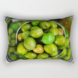 Olive you lots Rectangular Pillow