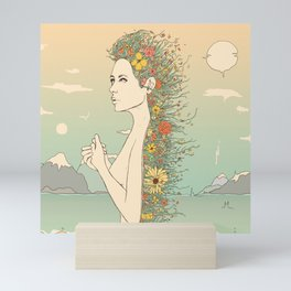 Facade of Existence (Let Life Blossom) Mini Art Print