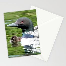 Under her watchful eye Stationery Cards