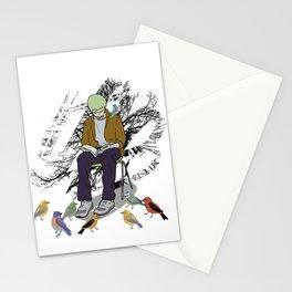 Psycho Birds Stationery Cards