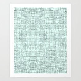 Mint Marks Art Print