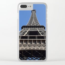 torre eiffel Clear iPhone Case