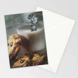 Cookies and Milk Stationery Cards